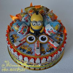 Gallery.ru / Фото #165 - Тортики из конфет - monier