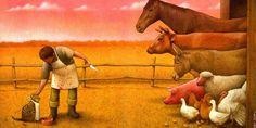 Satira e illustrazione. La straordinaria arte di Pawel Kuczynski. Da vedere!!!