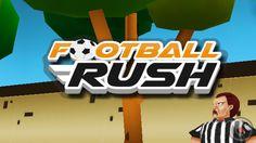 Football Rush 2014: Brazil Dash! - iPhone and iPad Gameplay.   #worldcup2014 #fifa #soccer #football #ios #games #brazil