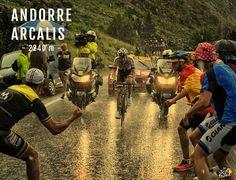 TOP 9 - Plus hautes arrivées au sommet / TOP 9 - The highest mountain finishes 🏔 5/9 - Andorre-Arcalis Full story > instagram.com/letourdefrance