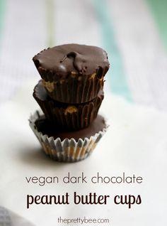 vegan dark chocolate peanut butter cup recipe