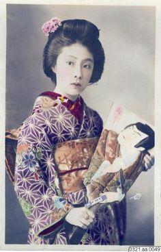porträtt, kabukiteater, dräkt, fotografi, photograph Hand Coloring, Geisha, Disney Characters, Fictional Characters, Snow White, Photograph, Portraits, Disney Princess, Art
