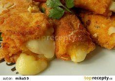 Sýrové hranolky v jogurtovém těstíčku recept - TopRecepty.cz
