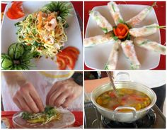 tasty Vietnamese dishes we made during our Cooking Class Boat Cruise along Thu Bon River with Cinnamon Cruises