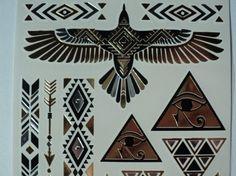 Luxurious, Golden Metallic, Egyptian, Golden Eagle, Dessert Gypsy, Eye of Horas…
