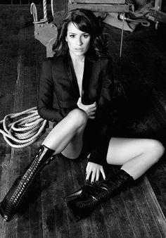Lea Michele UK 'Marie Claire' (PHOTOS)