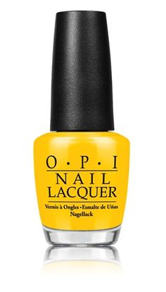Pretty Painted Fingers & Toes Nail Polish| Serafini Amelia| Yellow hue-OPI Good Grief!