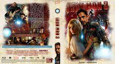 Iron Man 3 (2013) Blu-ray Custom Cover