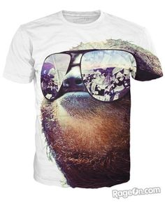 Sloth Swag T-Shirt - RageOn! - The World's Largest All-Over-Print Online Store