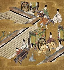 "Ch. 42 – 匂宮 Niō no Miya (""The Perfumed Prince"") | Tosa Mitsuoki"
