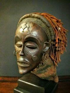 Chokwe mask, R.D. Congo