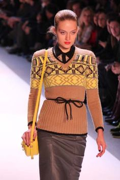 Charlotte Ronson Fall 2012 Runway Review and Photos