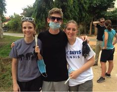 Volunteering for community clean up in #Cambodia! #GivingTuesday #WishesDelivered #MyGivingStory #Education #IBlife