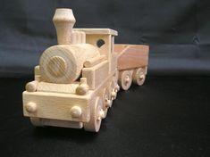 Dampflokomotive Spielzeug aus Holz. 38.99 €
