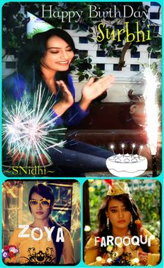 Surbhi Jyoti's birthday-29th May