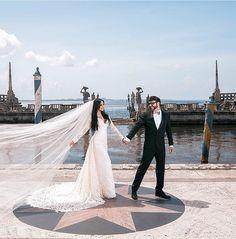 Geraldo Couto vestido de Noiva