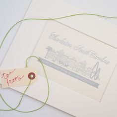 Charleston Gift Idea Wedding Christmas Holiday Single House 8x10 Print – shop dodeline | pretty paper and sundries