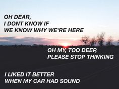 lyrics twenty one pilots | Tumblr