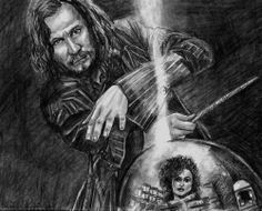 8 x10 HARRY POTTER SIRIUS BLACK GARY OLDMAN ORIGINAL by ACEO Artist MIRACLE