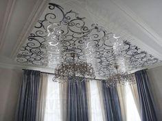 #laser #cut #stainless #steel #ceiling #лазерная #резка #нержавейка #потолок