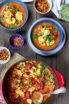 Sicilian Fish Stew Recipe | The Mediterranean Dish. Italian comfort in a bowl! My favorite! Fish fillet pieces cooked in a white wine and tomato broth with garlic, capers and more! Super easy and quick recipe. See it on TheMediterraneanDish.com