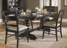 Whitney Dining Trestle Dining Table   Liberty   661-P4294+661-T4294