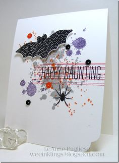 LeAnne Pugliese WeeInklings Cheer All Year Gorgeous Grunge Halloween Stampin Up