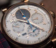 IWC Da Vinci Perpetual Calendar Chronograph Watch Hands-On Hands-On