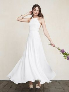 Why wouldn't you want to look like a mega babe on your wedding day. For all our girls out there who want to look angelic, hot, elegant, dreamy, and cool on their wedding day, here is the Noelle Dress. https://www.thereformation.com/products/noelle-dress-blessed?utm_source=pinterest&utm_medium=organic&utm_campaign=PinterestOwnedPins