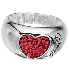 Guess Jewelry Heart Ring