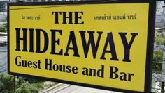 Hideaway bar and Guest House