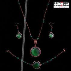 ست زیورآلات چشم ببر: جهت آگاهي از جزئيات اين محصول و چگونگي خريد آن، لطفا به فروشگاه اينترنتي صنايع دستي من و هنر مراجعه فرماييد. www.manohonar.com Pendant Necklace, Jewelry, Jewlery, Jewerly, Schmuck, Jewels, Jewelery, Drop Necklace, Fine Jewelry
