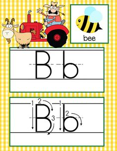 FARM Theme Classroom Decor / ABC Cards with illustrations / Handwriting / font: ABC print / JPEGS and PDF / ARTrageous Fun