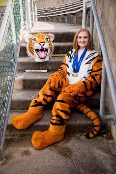 Cheer Pictures, Senior Pictures, Cheer Pics, Mario Fan Art, School Costume, Senior Boys, Fursuit, Mascot Costumes, Tigger