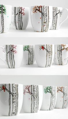 An exclusive line of hand-painted dinnerware. Celebrate your next meal as a decadent art-filled experience.