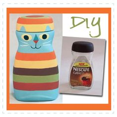 diy recycle- This would be great to hold Frisky's treats!