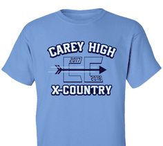 High School Impressions search XC-026-W; 2017 High School Cross Country T-Shirts- Create your own design for t-shirts, hoodies, sweatshirts. Choose your Text, Ink and Garment Colors. Visit our other boards for other great designs!