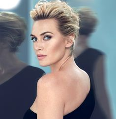 Kate Winslet - love her makeup & brows