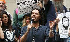 Russell Brand #heroes #activist #revolution #comedy #actor #millionaire #bum