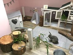 Diy Bunny Cage, Bunny Cages, Rabbit Cages, House Rabbit, Rabbit Toys, Diy Bunny Hutch, Diy Bunny Toys, Rabbit Hutch Indoor, Indoor Rabbit Cage