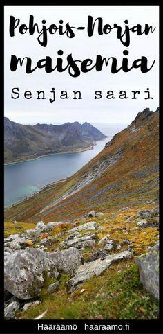 Upea vuoristoinen Senjan saari Pohjois-Norjassa Life Is Good, Travelling, Camping, Mountains, Nature, Campsite, Naturaleza, Life Is Beautiful, Outdoor Camping