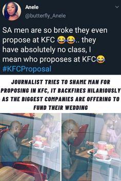 #Journalist #Tries #Shame #Man #KFC #Backfires #Hilariously #Biggest #Companies #Offering #Fund #Wedding