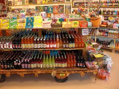 rocket fizz!! soda pop and candy shop in Indianapolis on the circle downtown. I love this place!
