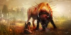 Heart of the West by Kirsi Salonen | Fantasy | 2D | CGSociety