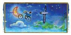 """Ink and pastel art from children's storybook """"Nancy the Narcoleptic"""" Patricia Ward, Kids Story Books, Pastel Art, Ink, Artwork, Painting, Work Of Art, Paintings, India Ink"""