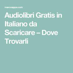 Audiolibri Gratis in Italiano da Scaricare – Dove Trovarli