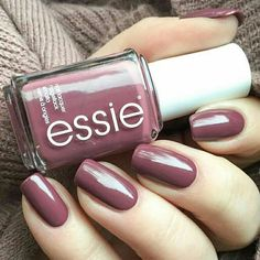 Angora cardi by essie. I'm addicted to colouring my nails so winter gives me the opportunity to wear darker, warmer colours. And Essie colours are my go-to polishes!