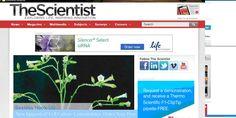TheScientist, es un portal de noticias relacionadas con los diferentes campos de la ciencia.
