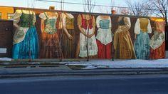 Street Art on William St in the Poiinte Saint Charles, Real Estate Marketing, Montreal, The Neighbourhood, Street Art, Old Things, Future, History, Blog
