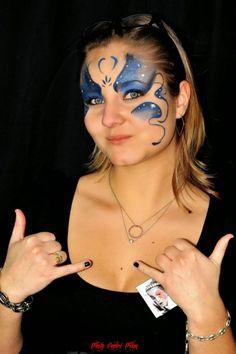 Maquillage artistique face painting maquillages enfants fées princesses papillons tigres animaux licornes #maquillages #facepainting
